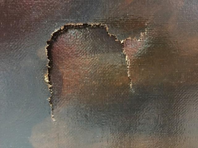 kid tears up million dollar painting