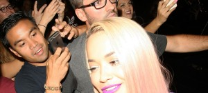 51833719 British singer Rita Ora is mobbed by fans and autograph seekers as she leaves the El Rey Theatre after her performance on August 26, 2015 in Los Angeles, California. FameFlynet, Inc - Beverly Hills, CA, USA - +1 (818) 307-4813