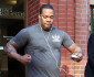 51645989 Rapper Busta Rhymes is spotted leaving the bank on February 6, 2015 in Los Angeles, California. Busta flexed for the cameras while exiting the building. FameFlynet, Inc - Beverly Hills, CA, USA - +1 (818) 307-4813