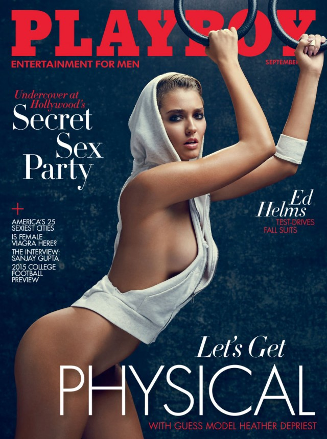 Playboy September 2015 Heather Depriest