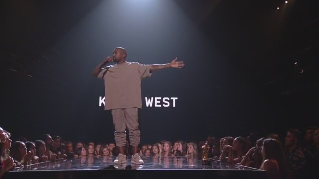 kanye arms outstretched vmas