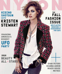 Kristen Stewart Covers September 2015 Nylon Magazine