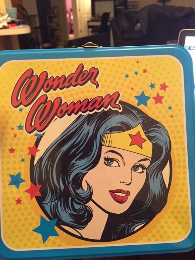 Laura Wonder Woman Lunchbox