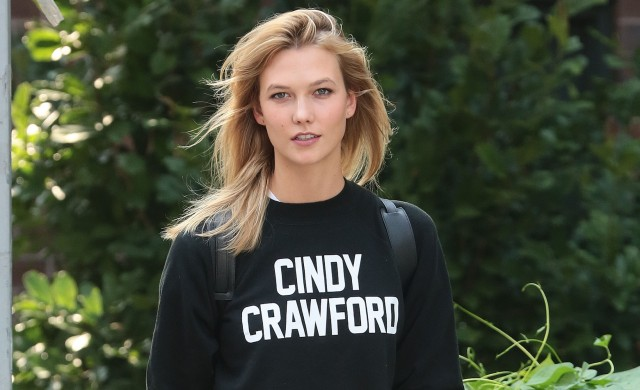 Karlie Kloss Back to School Cindy Crawford Shirt