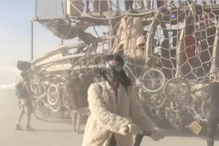Katy Perry Segway Burning Man