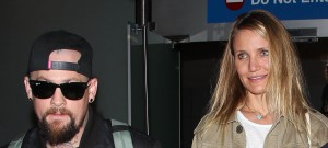 cameron diaz benji madden walking