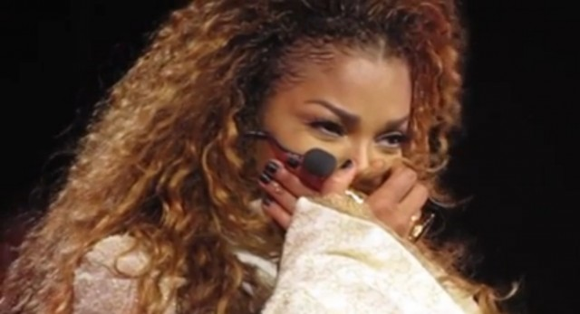 janet jackson crying