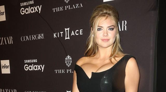 kate upton lopsided cleavage