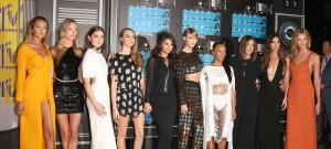51837132 The 2015 MTV Video Music Awards held at Microsoft Theater  in Los Angeles, California on 8/31/15 The 2015 MTV Video Music Awards held at Microsoft Theater  in Los Angeles, California on 8/31/15 Gigi Hadid, Marta Hunt, Hailee Steinfeld, Cara Delevingne, Selena Gomez, Taylor Swift, Serayah, Mariska Hargitay, Lily Aldridge, Karlie Kloss FameFlynet, Inc - Beverly Hills, CA, USA - +1 (818) 307-4813