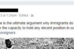 Facebook Racist Shut Down by Mother