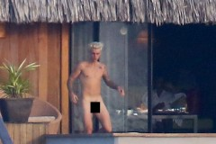 Justin Bieber Censored Schlong
