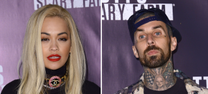 Travis Barker Dating Rita Ora