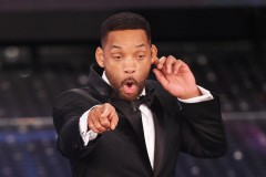 Will Smith Grabbing His Ear Rapping