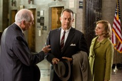 Tom Hanks is James Donovan, Amy Ryan is his wife Mary and Alan Alda is Thomas Watters, Jr. in BRIDGE OF SPIES, directed by Steven Spielberg,  the incredible story of an ordinary man placed in extraordinary circumstances.