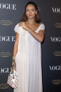 51868777 Celebrities attend the Vogue 95th Anniversary Party on October 3, 2015 in Paris, France. Celebrities attend the Vogue 95th Anniversary Party on October 3, 2015 in Paris, France. Pictured: Rihanna FameFlynet, Inc - Beverly Hills, CA, USA - +1 (818) 307-4813 RESTRICTIONS APPLY: USA ONLY