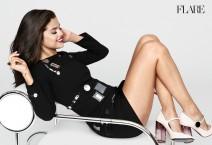 Selena Gomez on Cover of Flare Magazine November 2015