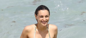 51882021 Latin model Sofia Macaggi and her boyfriend enjoying a day on the beach in Miami, Florida on October 17, 2015. FameFlynet, Inc - Beverly Hills, CA, USA - +1 (818) 307-4813