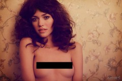Cora Keegan Models for Treats! Magazine