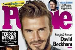 David Beckham People Magazine's Sexiest Man Alive