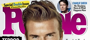 David Beckham People Magazine's Sexiest Man Alive
