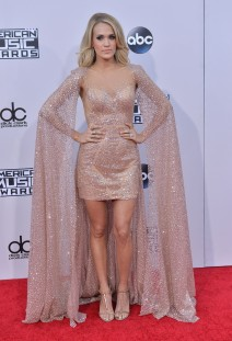 51915887 Celebrities arriving at the 2015 American Music Awards at Microsoft Theater on November 22, 2015 in Los Angeles, California. Celebrities arriving at the 2015 American Music Awards at Microsoft Theater on November 22, 2015 in Los Angeles, California.  Pictured: Carrie Underwood FameFlynet, Inc - Beverly Hills, CA, USA - +1 (818) 307-4813 RESTRICTIONS APPLY: NO FRANCE