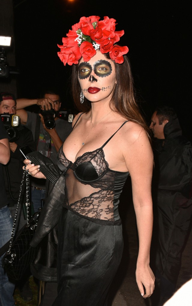 celebrities attend the casamigos halloween party 200812
