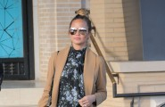 51917243 Pregnant model Chrissy Teigen spotted out shopping at Barneys New York in Beverly Hills, California on November 24, 2015.  She recently shut down rumors about her having a feud with Tyra Banks and said that was not her reason for leaving FABLife. Afterwards Chrissy stopped by a couple of other stores to finish off her shopping spree. FameFlynet, Inc - Beverly Hills, CA, USA - +1 (818) 307-4813
