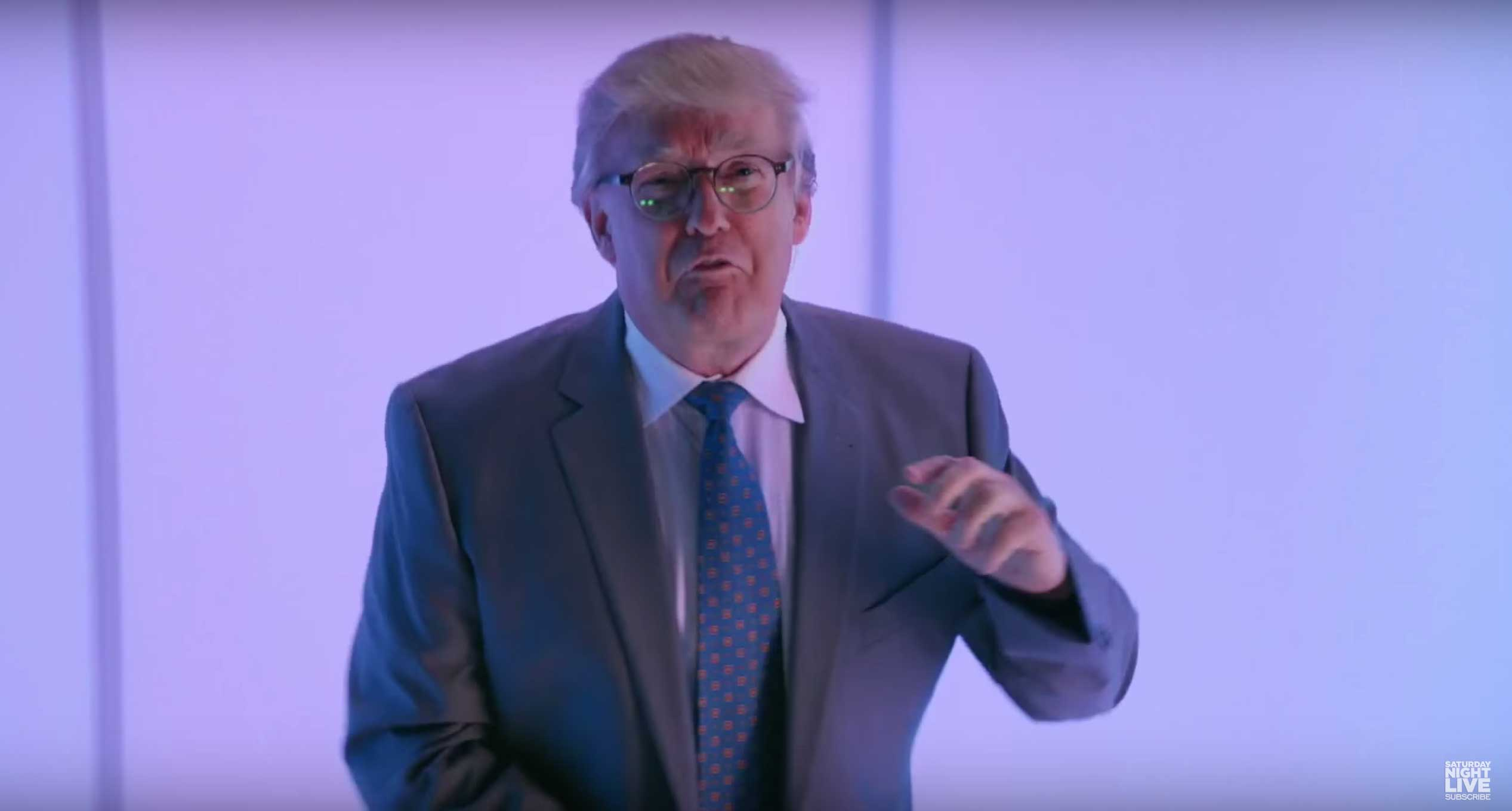 donald trump hosted saturday night live last night giving the show its ...