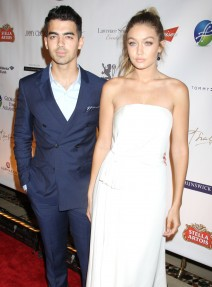 51874284 Celebrities at the Global Lyme Alliance - Uniting For A Lyme-Free World Inaugural Gala at Cipriani 42nd Street in New York City, New York on October 8, 2015. Celebrities at the Global Lyme Alliance - Uniting For A Lyme-Free World Inaugural Gala at Cipriani 42nd Street in New York City, New York on October 8, 2015.  Pictured: Joe Jonas, Gigi Hadid FameFlynet, Inc - Beverly Hills, CA, USA - +1 (818) 307-4813