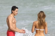 51918565 Italian model Melissa Castagnoli shows off her bikini body while enjoying a beach day in Miami, Florida with her boyfriend on November 28, 2015. FameFlynet, Inc - Beverly Hills, CA, USA - +1 (818) 307-4813