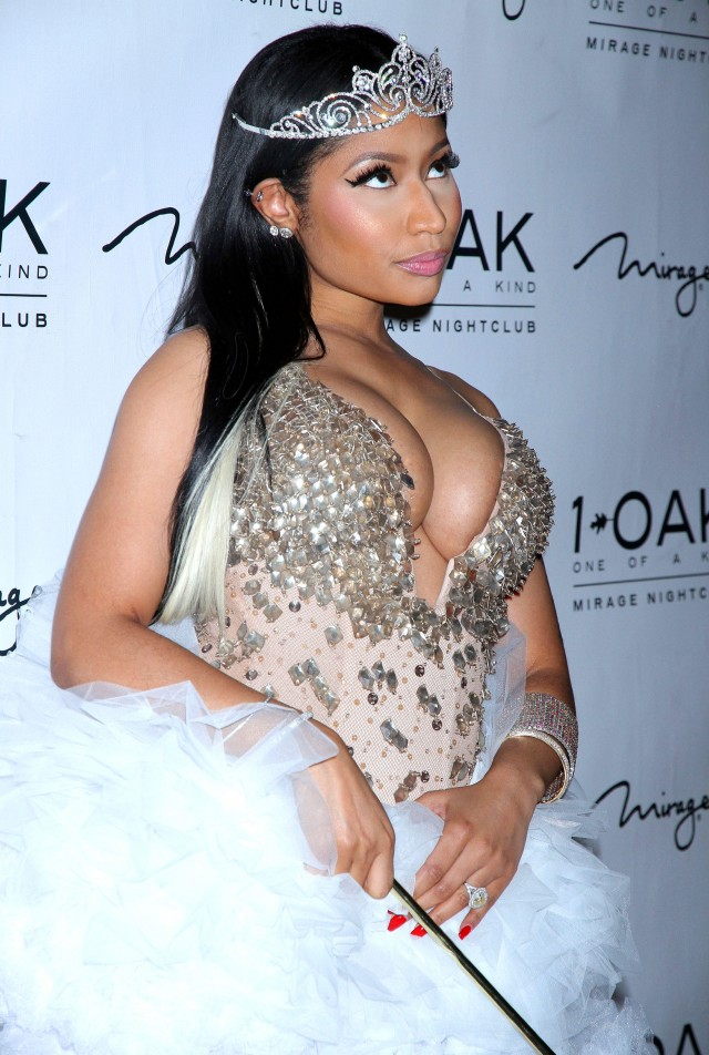 51894293 Recording artist Nicki Minaj, dressed as a a fairy princess, attends a Haunted Funhouse Halloween party at 1 OAK Nightclub at The Mirage Hotel & Casino on October 31, 2015 in Las Vegas, Nevada. FameFlynet, Inc - Beverly Hills, CA, USA - +1 (818) 307-4813