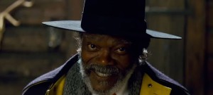 Samuel Jackson in Quentin Tarantino's The Hateful Eight