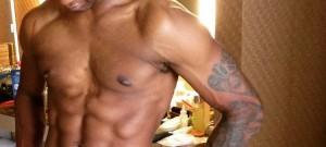 usher in his underwear