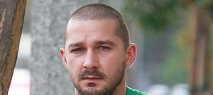 Shia LaBeouf Stops For Some Morning Coffee
