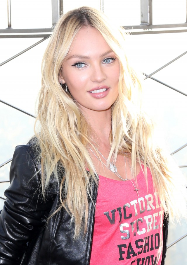 51923896 Candice Swanepoel at the Empire State Building in New York City, New York on December 7, 2015.  Candice was promoting the 2015 VictoriaÕs Secret Fashion Show. FameFlynet, Inc - Beverly Hills, CA, USA - +1 (818) 307-4813