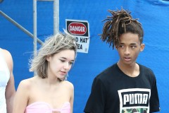 51923012 Actor Jaden Smith and his girlfriend Sarah Snyder out and about in Miami, Florida on December 06, 2015. FameFlynet, Inc - Beverly Hills, CA, USA - +1 (818) 307-4813