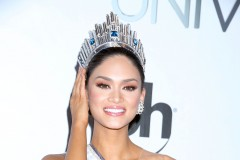 51933926 Miss Universe 2015 Winner Pia Alonzo Wurtzbach, representing the Philippines, poses for photos after winning the award in Las Vegas on December 20, 2015. Steve Harvey, host of the event, accidentally announced Ariadna Gutierrez Arevalo of Colombia as the winner on live TV, correcting himself moments later and giving the prize to Wurtzbach. FameFlynet, Inc - Beverly Hills, CA, USA - +1 (310) 505-9876