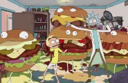 rick and morty carl's jr