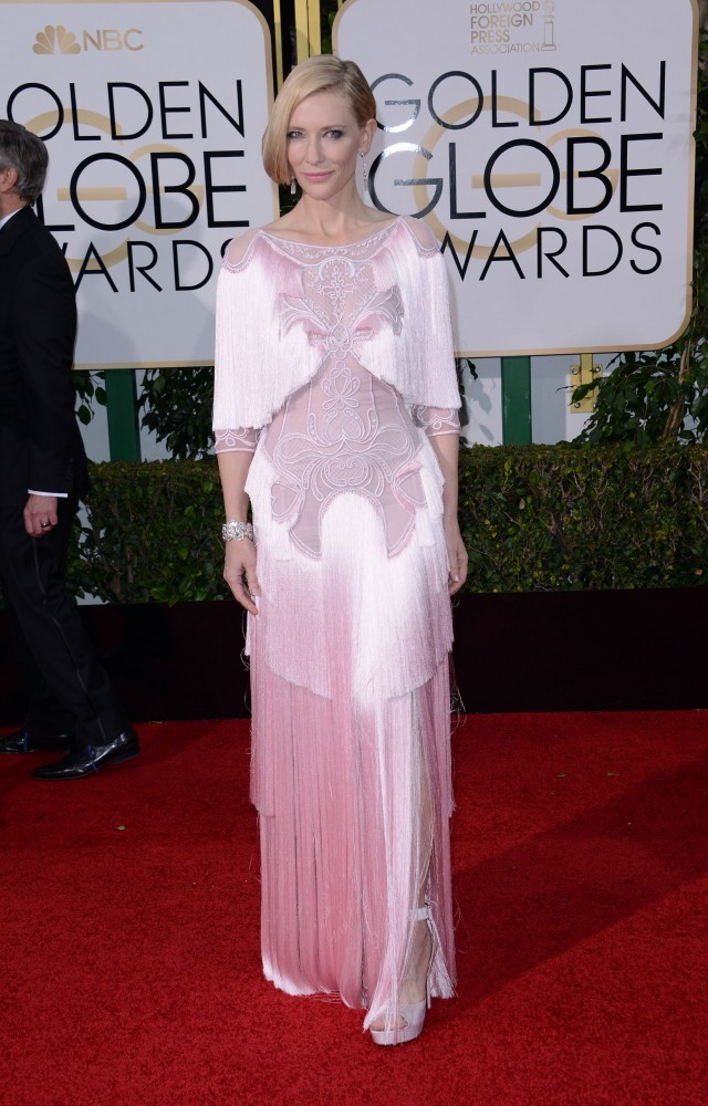 51943572 Celebrities arriving at the 73rd Annual Golden Globe Awards at The Beverly Hilton Hotel in Beverly Hills, California on January 10, 2016. Celebrities arriving at the 73rd Annual Golden Globe Awards at The Beverly Hilton Hotel in Beverly Hills, California on January 10, 2016. Pictured: Cate Blanchett FameFlynet, Inc - Beverly Hills, CA, USA - +1 (310) 505-9876 RESTRICTIONS APPLY: NO FRANCE