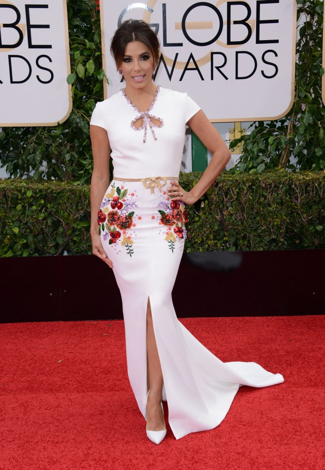 51943595 Celebrities arriving at the 73rd Annual Golden Globe Awards at The Beverly Hilton Hotel in Beverly Hills, California on January 10, 2016. Celebrities arriving at the 73rd Annual Golden Globe Awards at The Beverly Hilton Hotel in Beverly Hills, California on January 10, 2016. Pictured: Eva Longoria FameFlynet, Inc - Beverly Hills, CA, USA - +1 (310) 505-9876 RESTRICTIONS APPLY: NO FRANCE