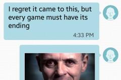 Hannibal Lecter Tinder
