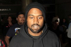 Kanye West LAX Airport