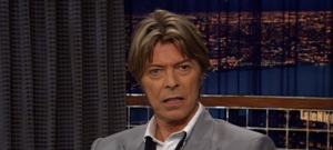 david bowie on conan o'brien