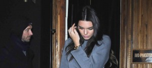 51945179 Reality star and model Kendall Jenner and her friend Hailey Baldwin enjoy a night out together at The Nice Guy nightclub on January 11, 2016 in West Hollywood, California. Kendall showed off her flat stomach in a grey crop top while Hailey opted for a little black dress. FameFlynet, Inc - Beverly Hills, CA, USA - +1 (310) 505-9876
