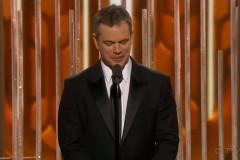 matt damon gervais joke
