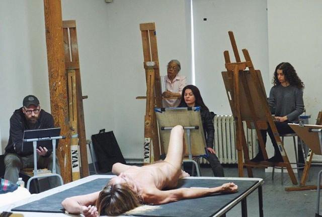 Iggy Pop Naked in Art Class