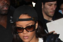 51954347 Singer Rihanna was seen touching down at LAX in Los Angeles, California on January 23, 2017. The pop singer recently made headlines when she was spotted kissing Oscar nominee Leonardo DiCaprio during fashion week in Paris, France. FameFlynet, Inc - Beverly Hills, CA, USA - +1 (310) 505-9876