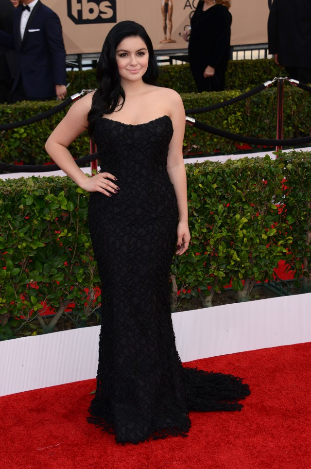 51960097 Celebrities attend the 22nd annual Screen Actor Guild awards held at the Shrine auditorium in Los Angeles, California on January 30, 2016. Celebrities attend the 22nd annual Screen Actor Guild awards held at the Shrine auditorium in Los Angeles, California on January 30, 2016.  Pictured: Ariel Winter FameFlynet, Inc - Beverly Hills, CA, USA - +1 (310) 505-9876 RESTRICTIONS APPLY: NO FRANCE