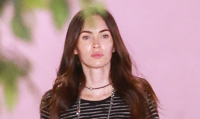 Exclusive... 51952380 Megan Fox and Brian Austin Green take their son Noah Green to a hospital in Los Angeles on January 21, 2016. FameFlynet, Inc - Beverly Hills, CA, USA - +1 (310) 505-9876