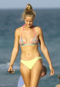 Abby Champion At The Beach In Miami